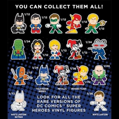 DC: POP! Mistery Minis Super Heroes Vinyl Figures