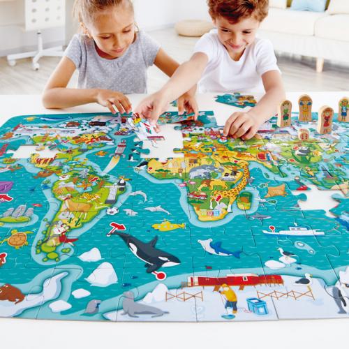 Puzzle: La Vuelta al mundo