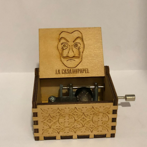 La casa de papell: Caja de Musica Bella Ciao